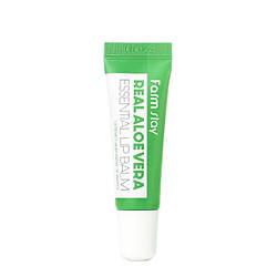 Увлажняющий бальзам для губ с соком алоэ FarmStay Real Aloe Vera Essential lip balm