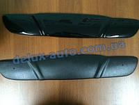 Зимняя накладка глянец на решетку (верхняя) Chevrolet Lanos