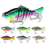 ZANLUREXY-2385pcs/set15.6g 10cm 7 секция Swimbait Hard Bait Рыбалка Lure Isca Искусственные приманки-1TopShop
