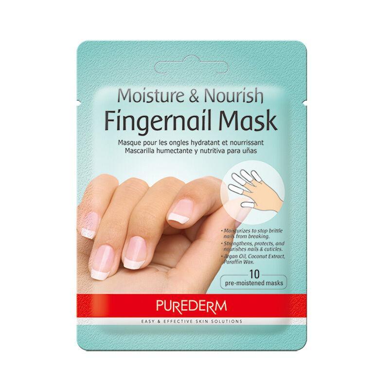 Маска для ногтей и кончиков пальцев Purederm Moisture & Nourishing Fingernail Mask
