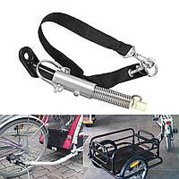 Универсальный стальной велосипедный прицеп Baby / Pet Coupler Hitch Linker Коннектор Прикрепленный файл-1TopShop