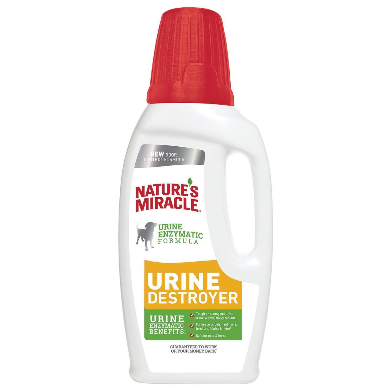 Natures Miracle Dog Urine 946 мл знищувач плям і запахів від сечі собак