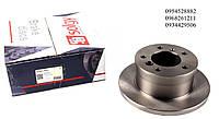 Тормозной диск задний (272x16) VW LT 28-35 \ Mersedes Sprinter 308-316 96-06 SOLGY (Испания) 208002
