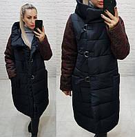 Куртка зимняя женская, арт. 181, цвет - черный