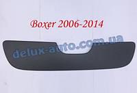 Зимняя матовая решетка (2006-2014) на Peugeot Boxer 2006↗ и 2014↗ гг.