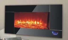 Настенный электрический камин Bonfire RLF-W04 сенсорное управление с регулировкой яркости пламени