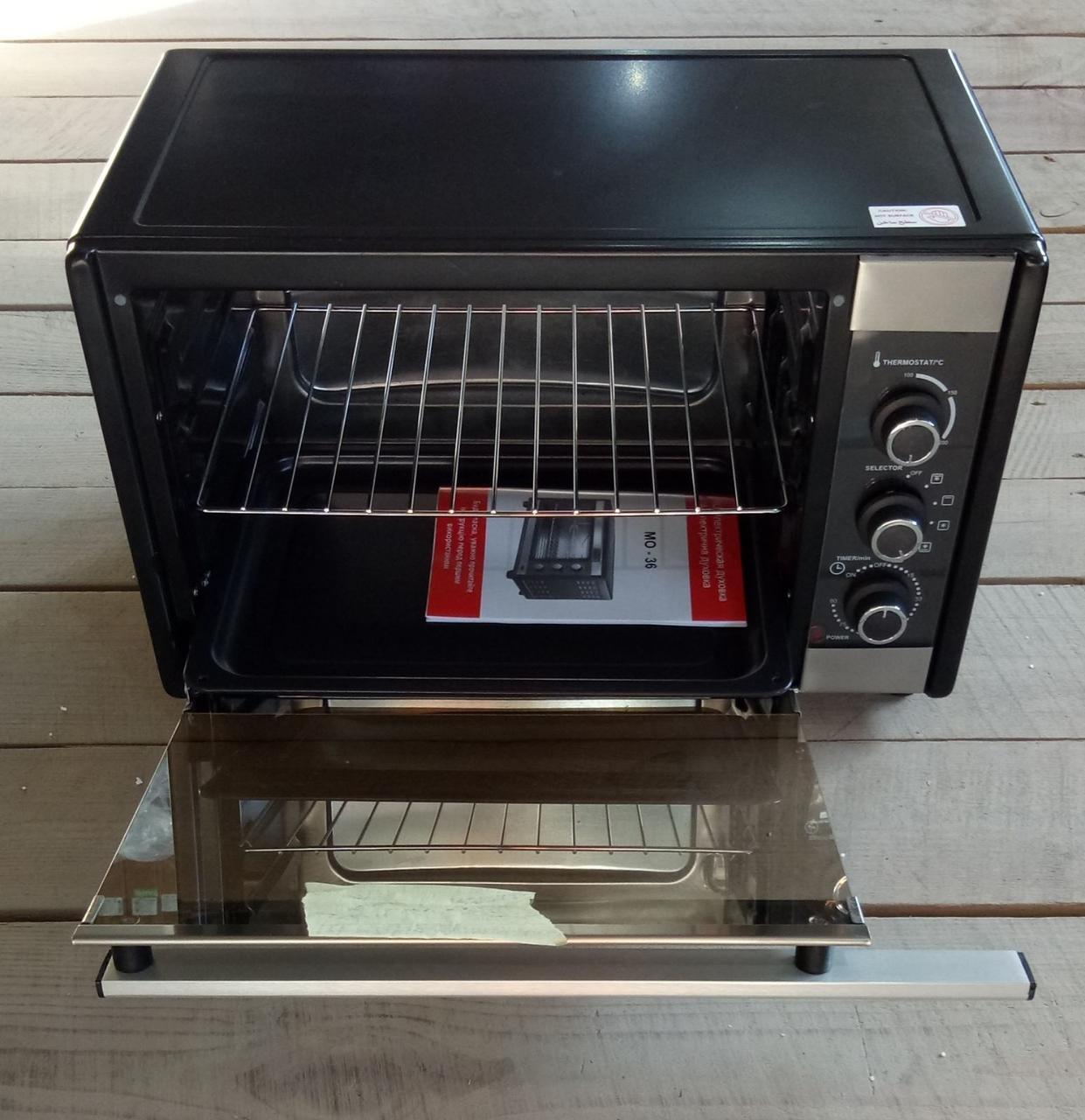 Печь электрическая с конвекцией 36л Milano MO-36 черн