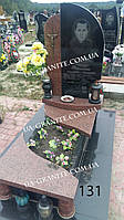 Памятник на могилу для чоловіка комбінований із гранту