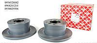 Тормозной диск чугунный задний (272x16) VW LT 28-35 \Mersedes Sprinter 308-316 96-06  FEBI (Германия) 09101