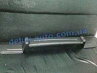 Зимняя матовая с утеплением нижняя накладка на решетку (полная) на Volkswagen T5 Transporter 2003-2010 гг.