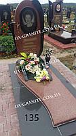 Памятник на могилу для любимой комбинированный