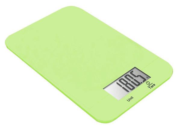 Весы кухонные Grunhelm KES-1RL (лайм), фото 2