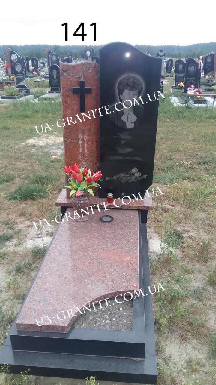 Памятник на могилу для коханої із граніту