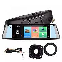 """Видеорегистратор в виде штатного зеркала - JUNSUN A8 регистратор с навигатором экран - 7 """"IPS 4 G интернет GPS"""