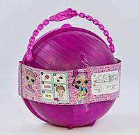LOL Big Surprise A 9229, ЛОЛ Большой Сюрприз в ракушке, диаметр 38 см, 10 куколок, фото 1