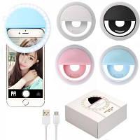 Вспышка-подсветка для телефона селфи-кольцо RK-12 Selfie Ring Light