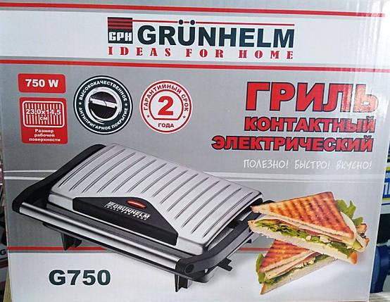 Электрогриль Grunhelm G750, фото 2