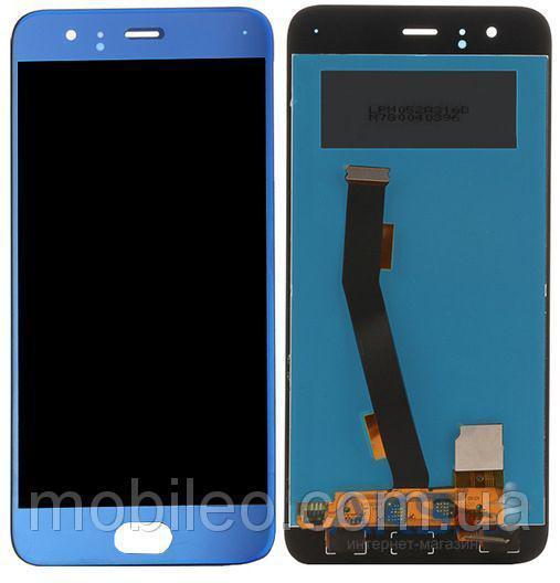 Дисплей (LCD) Xiaomi Mi6 с тачскрином, синий оригинал (PRC)