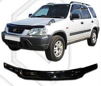 Дефлектор капота  Honda CR-V 1995-2002, Мухобойка Honda CR-V