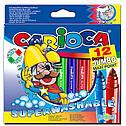 SUPER JUMBO Водосмываемые толстые фломастеры CARIOCA 41946, фото 2