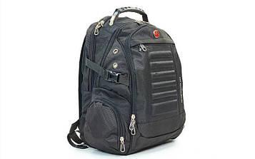 Рюкзак міський VICTOR 35л 1419 (PL, р-р 46x31x21 см, чорний)