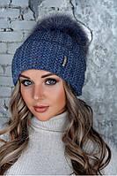 "Женская шапка ""Монако"", фото 1"