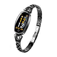 Умный браслет Smart band H8 Luxury Waterproof IP67 Black, фото 1