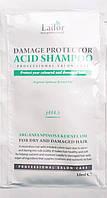 Бесщелочной шампунь с коллагеном Lador Damaged Protector Acid Shampoo Пробник-Саше, фото 1