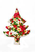 Новогодняя подушка декоративная Рождество 60 см
