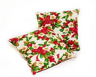 Новогодняя подушка декоративная Рождество 45*45 см