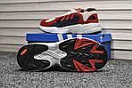 Мужские кроссовки Adidas Yung (бело-красные), фото 2