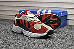 Мужские кроссовки Adidas Yung (бело-красные), фото 5