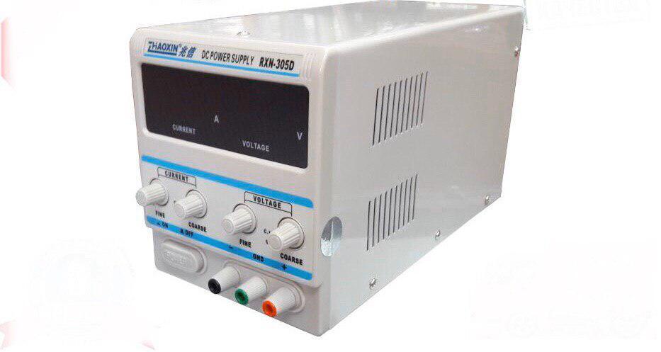 Лабораторный блок питания Zhaoxin RXN-305D 30V 5A c цифровой индикацией