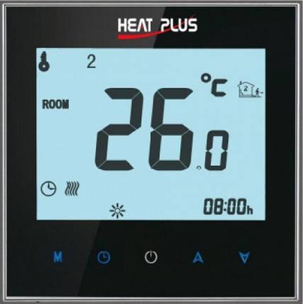 Терморегулятор HEAT PLUS iTeo4 (программируемый сенсорный), фото 2