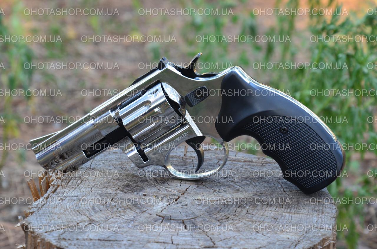 Револьвер под патрон Флобера Ekol Viper 3 (Chrome)