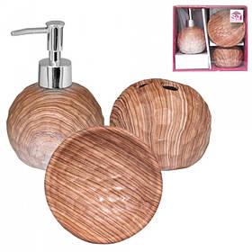 Набор аксессуаров для ванной комнаты 3 пр S&T Бук 889-06-002