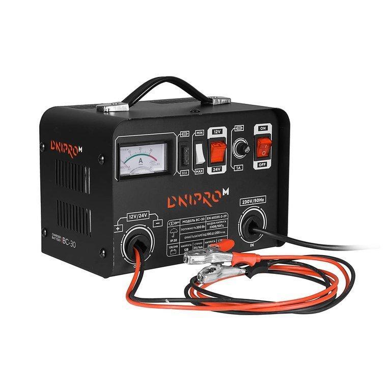 Зарядное устройство Dnipro-M BC-30 (БЕСПЛАТНАЯ ДОСТАВКА)
