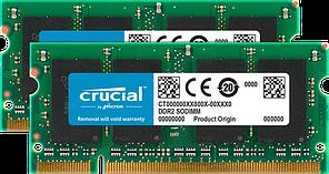 Оперативна пам'ять SODIMM 4GB Crucial (2 x 2GB) DDR2-800 (CT2KIT25664AC800)