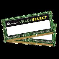 Оперативна пам'ять Corsair ValueSelect 16GB (2x8GB) DDR3L SODIMM (CMSO16GX3M2C1600C11)