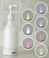 Дозатор для жидкого мыла с подсветкой Soap Brite