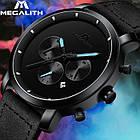 Мужские часы MegaLith Vector Leather, фото 7
