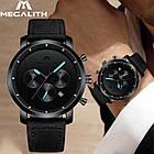 Мужские часы MegaLith Vector Leather, фото 9