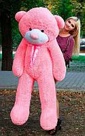 Плюшевый Мишка 180см. Большой Мишка Ромео игрушка Плюшевый медведь Мягкие мишки игрушки Ведмедик (Розовый), фото 1
