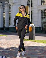 Модный женский спортивный костюм двухнить арт 897