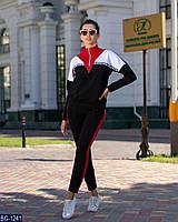 Удобный женский спортивный костюм двухнить арт 896