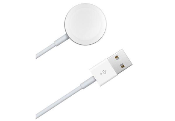 Кабель для зарядки Apple Watch с магнитным креплением 1м (White)