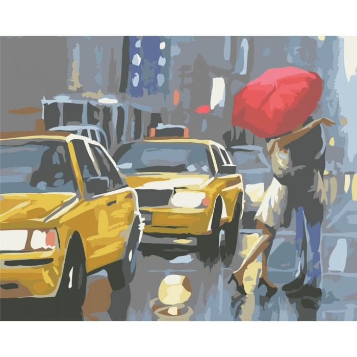Картина по номерам В ритме города КНО2141 40x50см Идейка