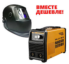 Сварочный инвертор Kaiser MMA-250 HOME LINE + Маска Хамелеон Forte МС-3500E