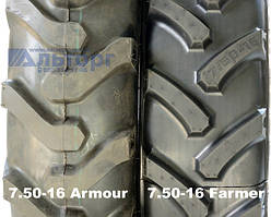 Шини 7.50-16 Farmer та заводські 7.50-16 - чим відрізняються?