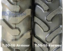 Шины 7.50-16 Farmer и заводские 7.50-16 - чем отличаются?